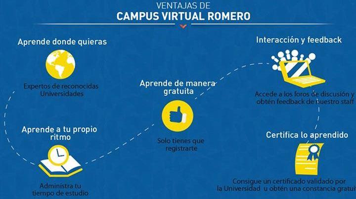 Campus Virtual Romero lanza dos nuevos cursos  301d4f0f73f